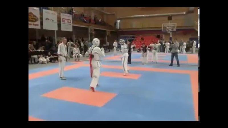 Джингёзов Адиль (PRIDE GYM) Косики-Каратэ 27.12.2015 - 2 бой