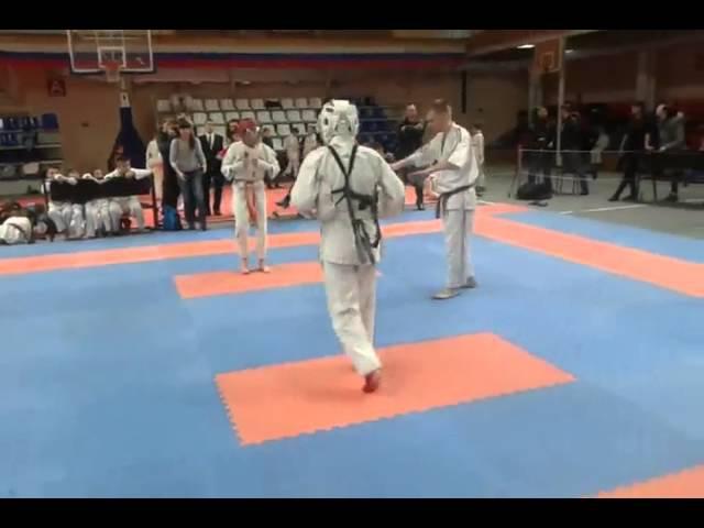 Джингёзов Адиль (PRIDE GYM) Косики-Каратэ 27.12.2015 - 3 бой
