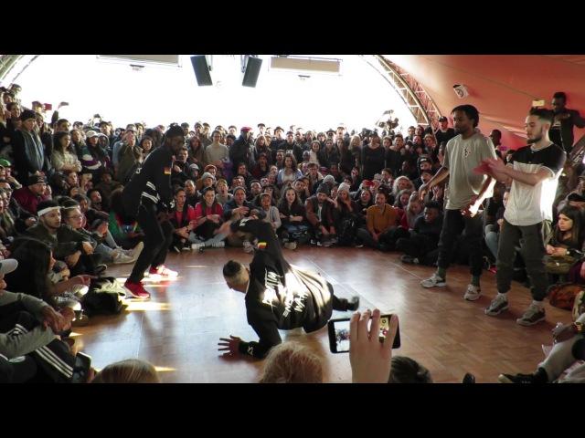 Waydi Rochka vs Ben Ukay/Juste Debout 2016