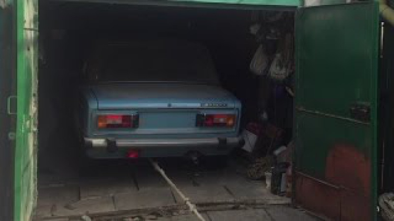 Новая шестерка ВАЗ-2106 1991-го года: покупка, достаем из гаража, узнаем почему она н...