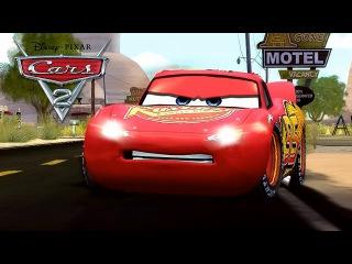 Мультфильм про машинки. Все серии подряд Тачки. Молния Маквин. Disney Cars