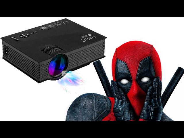 UNIC UC46 Wi-Fi LED проектор - Обзор