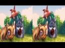 Big Buck BUNNY 3D SBS VR MOVIE for KIDS [Google Carbdoard] Oculus Gea VR Box VIDEO 3D
