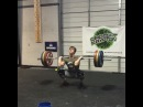"""Alec Smith on Instagram: """"320# for a touch and go triple today.  #MisfitAthletics @misfitathletics @rpmfitness"""""""