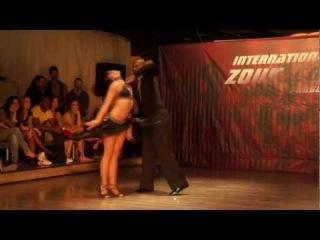 Gilson Damasco Natasha Terekhina, show at Prague Zouk congress 2012-03-30 [HD]