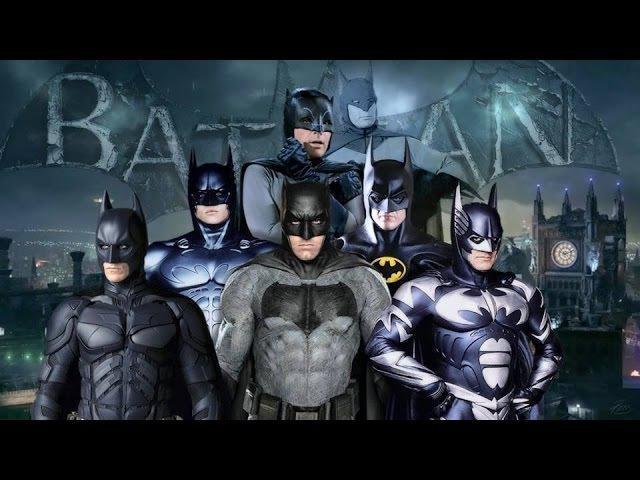 Все трейлеры про Бэтмена (1966-2016)