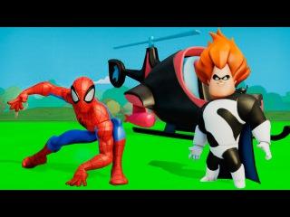 Смотреть человек паук для детей видео онлайн