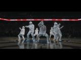 Потрясный танец от JABBAWOCKEEZ на финале NBA 2016