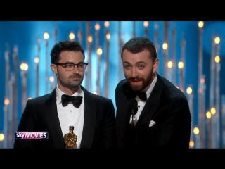 Lady Gaga's reaction on Sam Smith's speech at Oscars 2016
