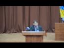 Виступ Русіна О. та Діденко В. на засіданні 7 сесії обласної ради сьомого скликання (01.06.2016р)