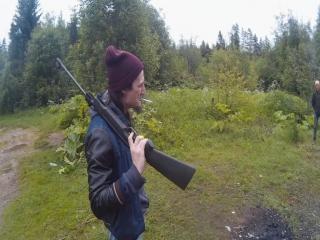 Радька-Дядька и Костяные пушки на выезде