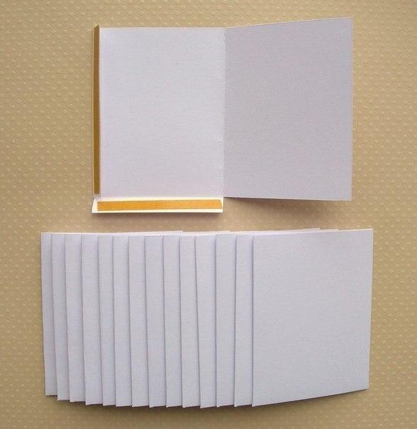 Как сделать из картона папку для документов