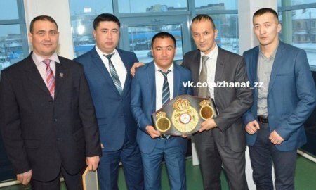 Временный чемпион мира WBA Жанат Жакиянов признан лучшим спортсменом Северо — Ка...