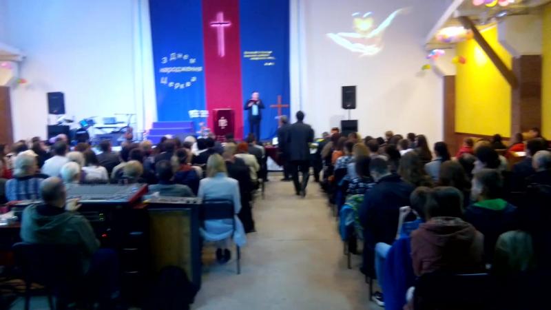 Церква ГЕФСИМАНІЯ проповідь Віталій Андрущакевич