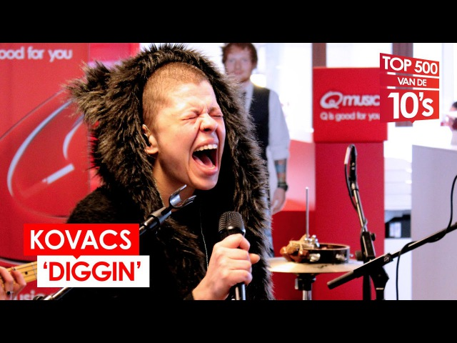 Kovacs - 'Diggin' (live bij Mattie Wietze)