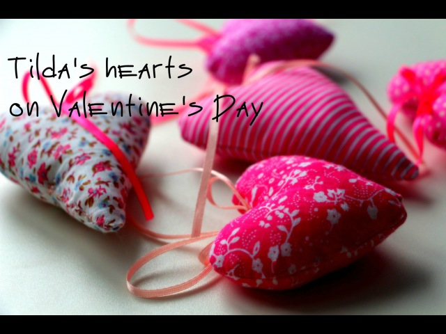 DIY: Тильда-сердечки на VALENTINE'S DAY