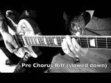 SixxA.M. - Lies Of The Beautiful People - Guitar Lesson by Dj ASHBA