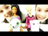 Видео для детей. Конкурс домашних питомцев кукол Эммы и Луизы. Лучшие подружки Соня и Полина.