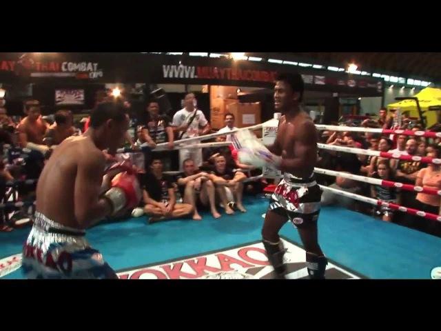 Buakaw Banchamek vs Saenchai Muay Thai Gym HD - Demo Fight by Yokkao