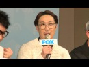 0129 Running Man press conference 이광수李光洙(Lee Kwang-soo) Kiss 偷親 김종국金鐘國(Kim Jong Kook) RM記者會