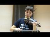 И.С. Бах. Соната № 2 ля мажор. BWV 1015 - Андрей Рабусов, ФФ НГУ - концерт 24.12.2015