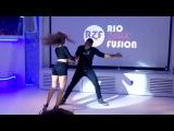 Carlos &amp Fernanda Da Silva Brazilian Zouk Dance Demo, London UK, June 2016