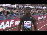 Athletics. Diamond League 2016. Step 5. Rome (Italy) 02.06.16