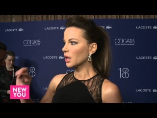 Kate Beckinsale Interview at Costume Designers Guild Awards