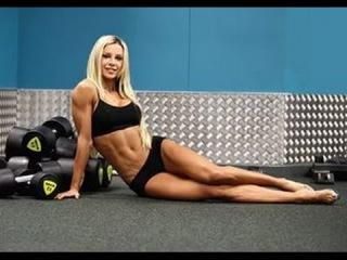 Чемпионка Мира по  Фитнесу и Бодибилдингу Тренировка для Начинающих