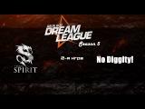 Spirit vs No Diggity! #2 (bo2)   DreamLeague Season 5, 24.03.16