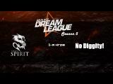 Spirit vs No Diggity! #1 (bo2)   DreamLeague Season 5, 24.03.16