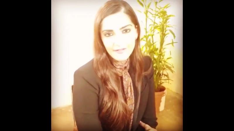 Sonam Kapoor for CNN-IBN