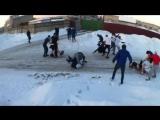 Hooligan fight with GoPro - Ukraine 2014