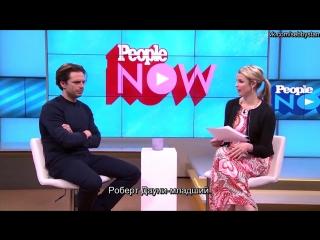 Себастиан отвечает на вопросы журнала People про каст «Противостояния» (Rus Sub)