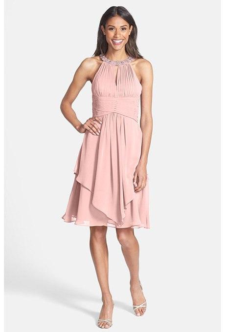 AmnavCYoFJw - 23 Романтических платья для розового свадебного стиля