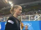ОИ 2004. Многоборье. Светлана Хоркина - опорный прыжок