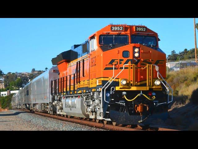 California Trains! 1 Hour, 150 Trains!