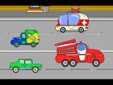 Мультики про машинки|Транспорт и спецтехника|Игра для детей