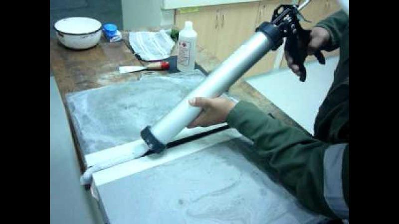 Metodo de Aplicacion junta poliuretano elastomerico SOUDAFLEX 40FC sobre concreto
