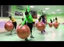Cardio fitball кардио фитбол инструктор Матрунич Екатерина