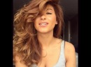 "Sarah Angius on Instagram: ""Blow dried curls💋  Blow dryer: Coif in🍰  Heat protection: L'Oréal Ever Sleek🍰  Hairspray: L'Oréal Studio line txt volume spray🍰  Brush…"""