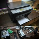 Ремонт капризного аппарата XEROX 3045