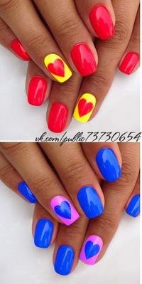 Маникюр дизайн ногтей вк