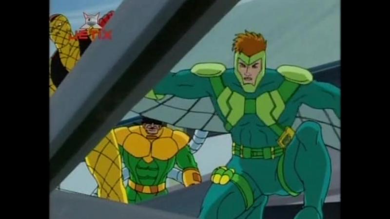 Человек паук 1994 года Сезон 5 Серия 3 Шесть забытых воинов 2 Невостребованное наследие