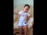 Мальчик няшно читает стих А.С.Пушкина