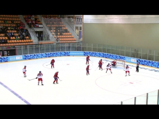 Ice Hockey - Womens Preliminaries - CZE vs NOR _ Lillehammer 2016 Youth Olympic Games