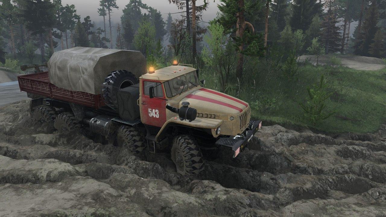 Урал-6614 для Spintires - Скриншот 1