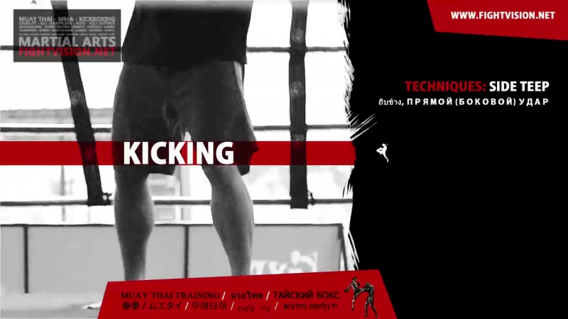 БИЕО Muay Thai Training Guide Beginners to Advanced Kicking