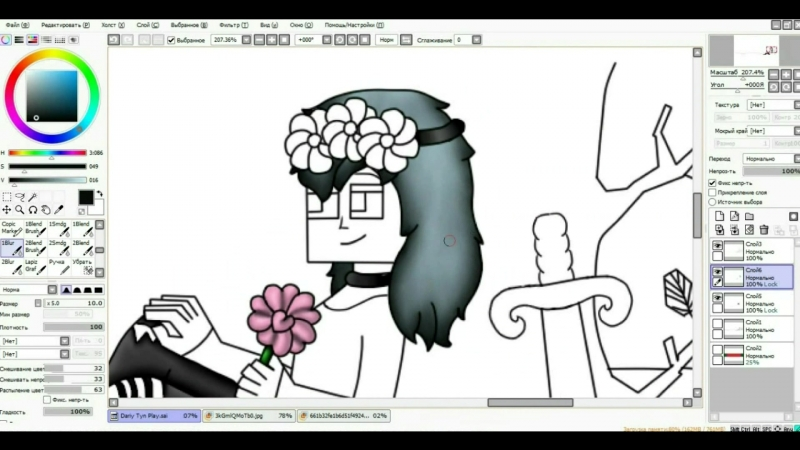 [Speed Art] Dariy Tyn Рlay - Баннер на канал