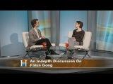 Рассказ о Фалуньгун на ТВ Канады